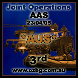 OZBG Joint Operations AAS Tournament Jan-Apr 2005